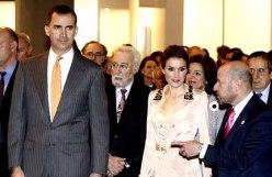 Los Príncipes de Asturias inauguran ARCO 2014.